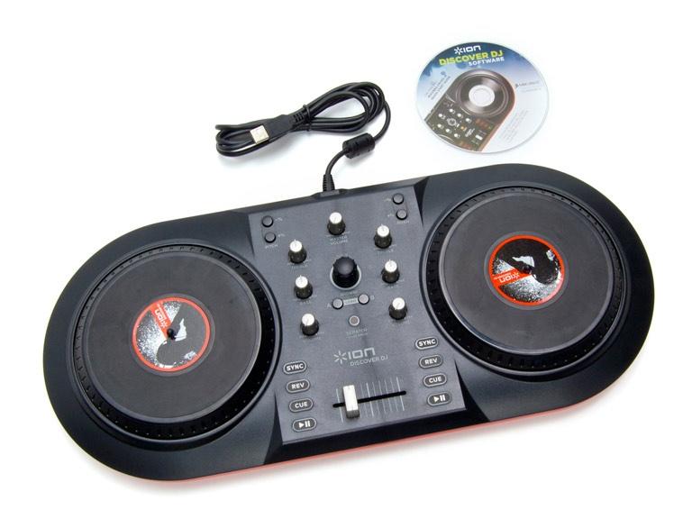 Máy dj ION Audio iCue3 Discover DJ System